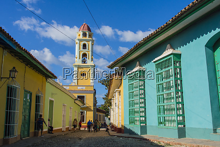 cuba sancti spiritus province trinidad iglesia