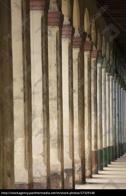 cuba, , havana, , columns, in, arcade., old - 27329148