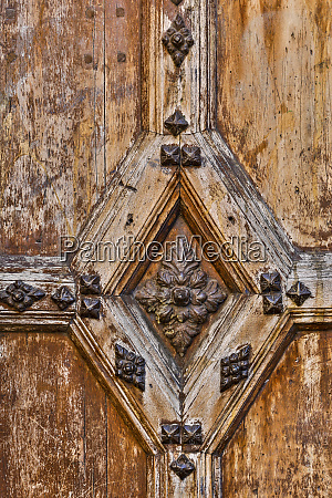 france toulouse detail of old wooden