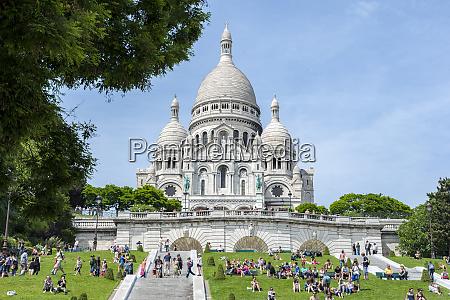 sacre coeur basilica paris france