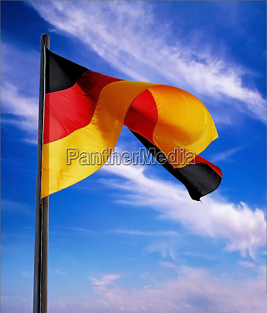 berlin germany flag of the federal