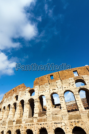 colosseum or flavian amphitheatre rome unesco