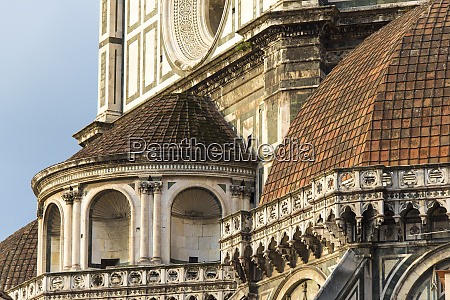 europe italy florence detail of ornate