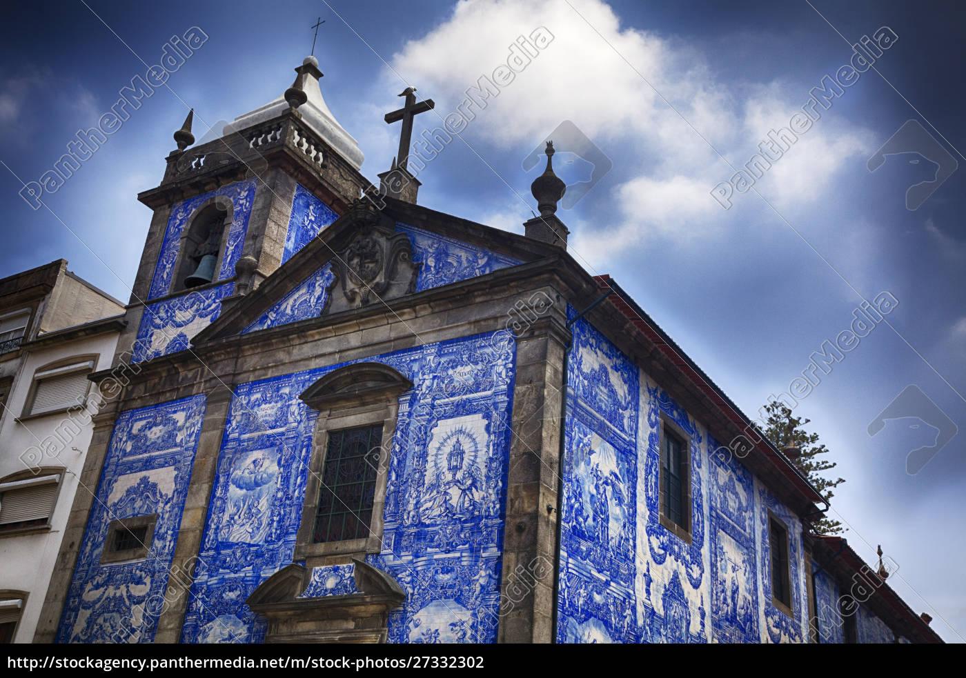 portugal, porto, die, kleine, kirche, capela, de, santa - 27332302