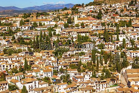 alhambra cityscape albaicin carrera del darro