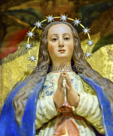 statue, der, jungfrau, maria, santa, iglesia, collegiata - 27333201