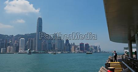victoria harbor hong kong 26 july