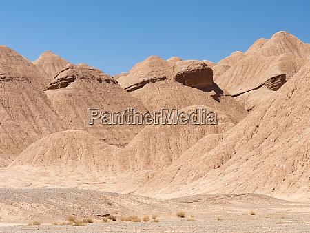 der argentinische altiplano entlang der routa