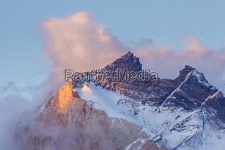 chile patagonien die horns berge