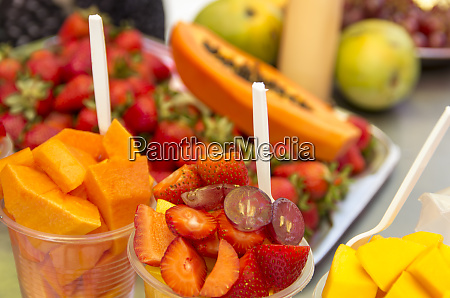 fresh tropical fruit for sale in