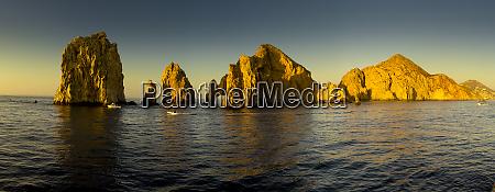 panorama sunrise lands end cabo san