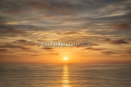 usa california la jolla abstract sunset