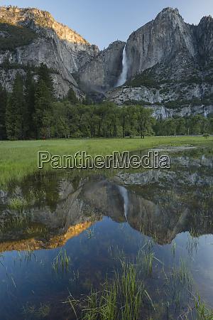 usa california yosemite national park early