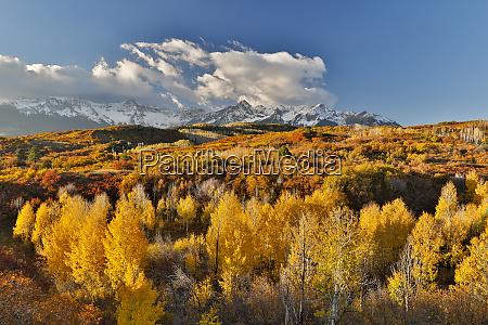 san juan mountains aus dem dallas