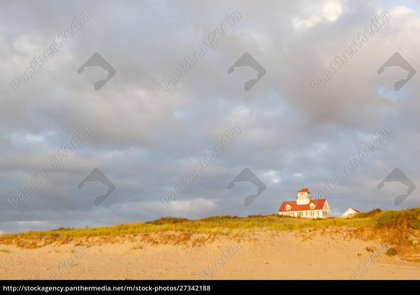 ehemalige, lebensrettungsstation, am, coast, guard, beach - 27342188