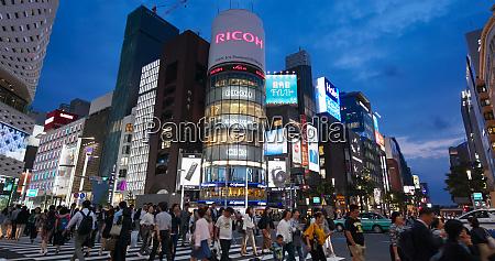 tokyo japan 30 june 2019 ginza