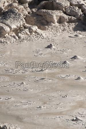 yellowstone national park wyoming usa thermal
