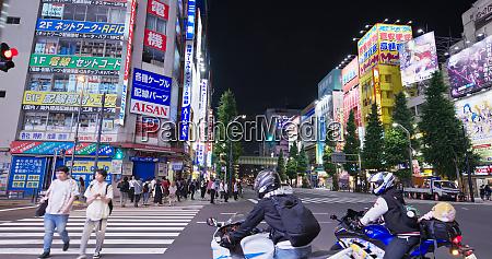 tokyo japan 28 june 2019 akihabara