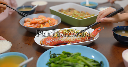 chinese, culture, family, dinner, together - 27349381