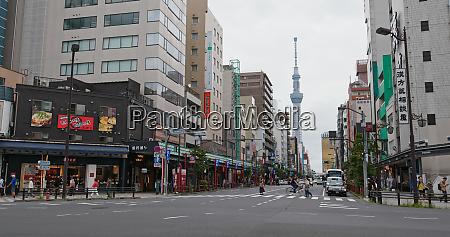 tokyo japan 25 june 2019 asakusa