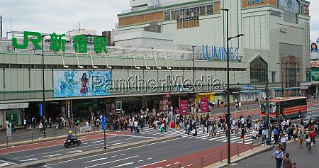 tokio japan 02 juli 2019 bahnhof