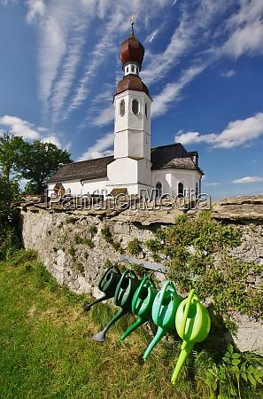 kirche filialkirche sankt andreas thalkirchen chiemgau