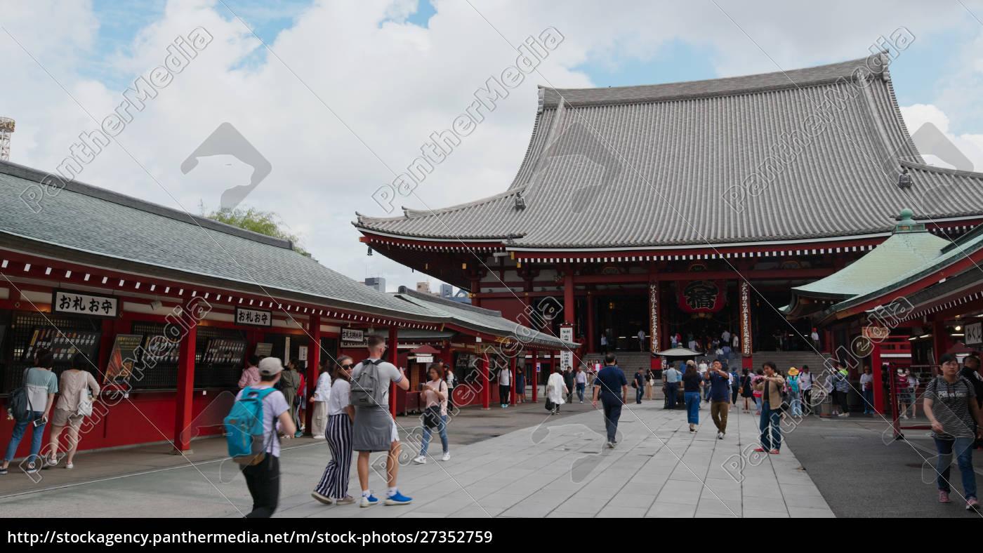 tokyo, , japan, , 24, june, 2019:, kaminarimon - 27352759
