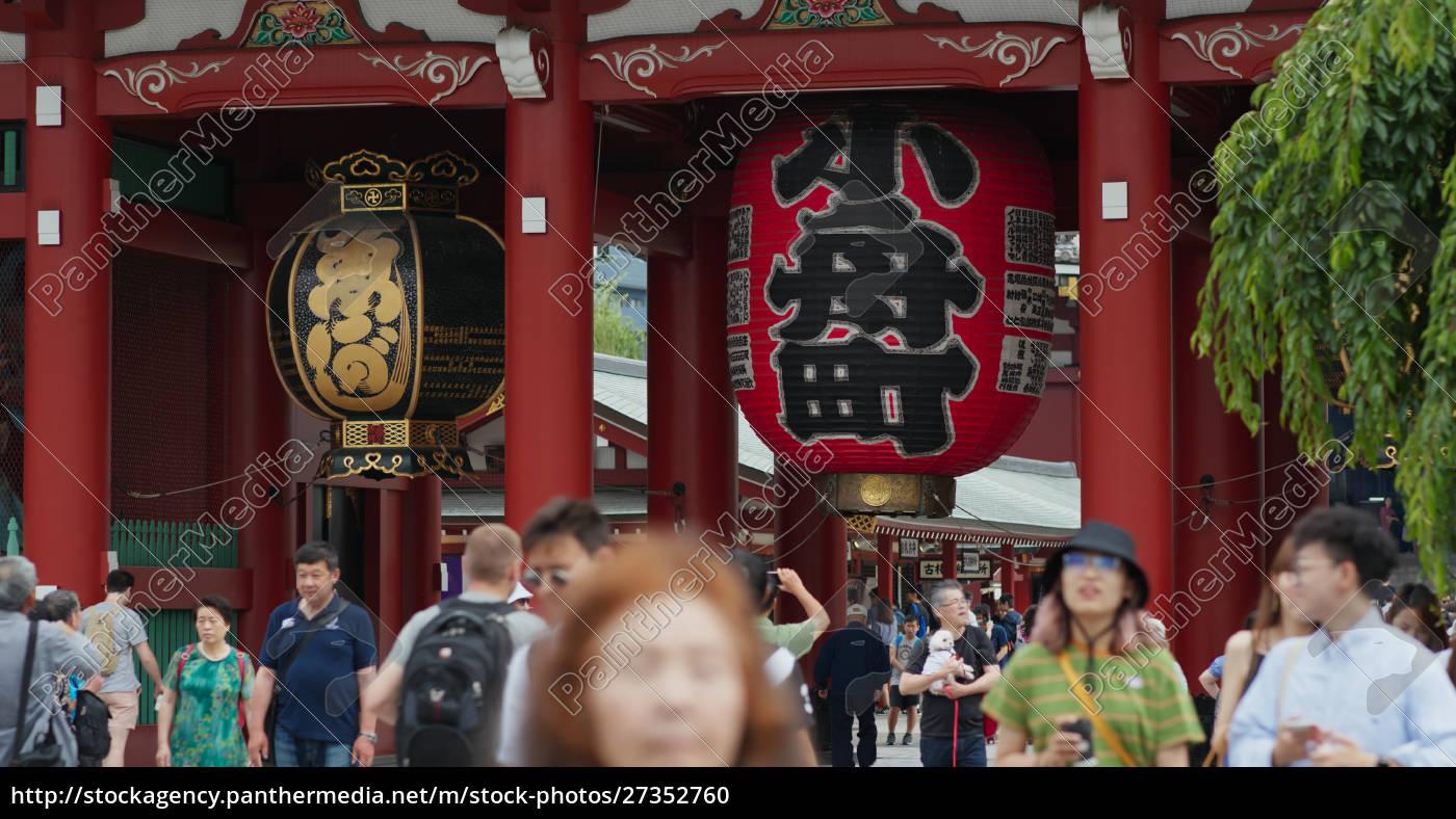 tokyo, , japan, , 24, june, 2019:, sensoji - 27352760