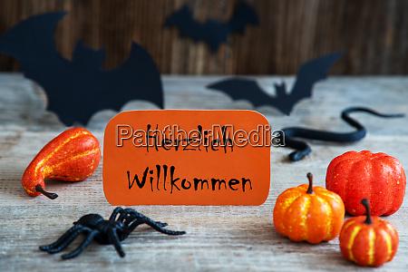 orange label willkommen bedeutet willkommen beaengstigend