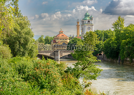 isar in muenchen