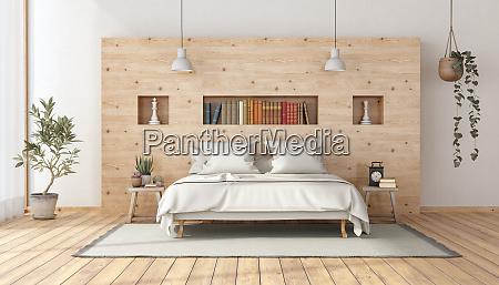 hauptschlafzimmer im rustikalen stil