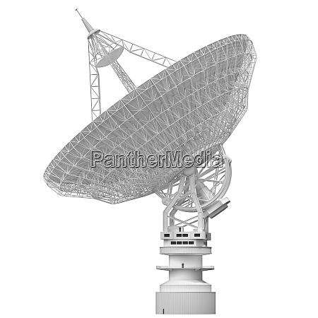 antenne satelliten dish clipping pfad enthalten