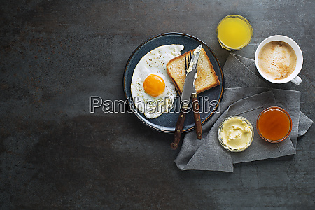 breakfast healthy with egg