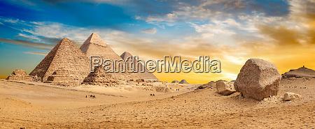 AEgypten wuestenpanorama