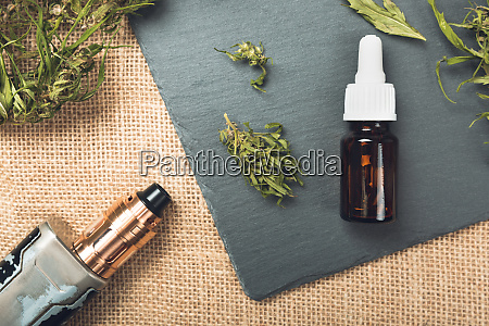 vape stift und medizinische marihuana hanf