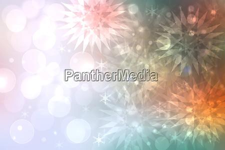 ein festliches abstraktes happy new year