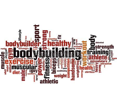 bodybuilding wort wolke