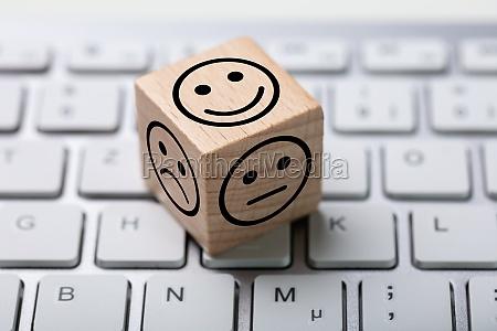 service satisfaction survey dice auf der