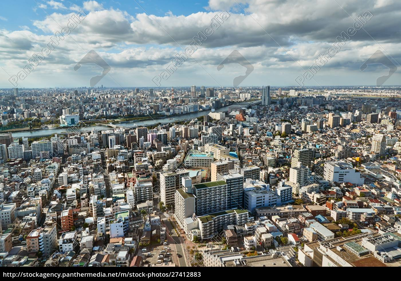 tokyo, residential, district - 27412883