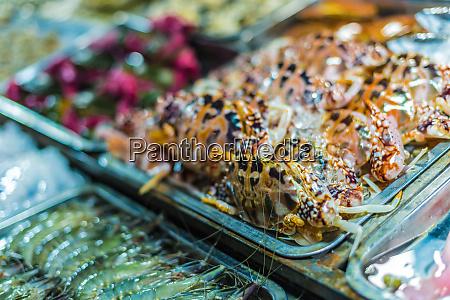 traditionelle vietnamesische street food verkauft in