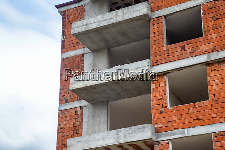 construction of high rise residential buildings
