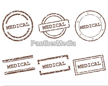 medical stamps