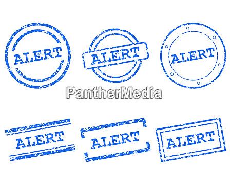 alert stamps