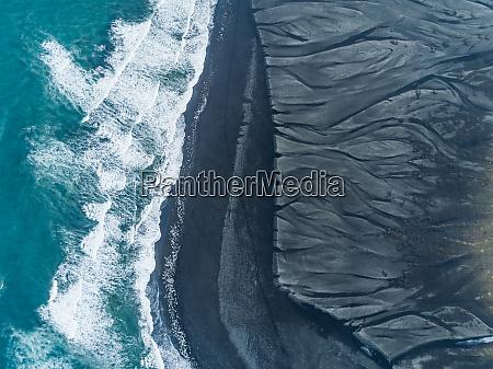 luftbild ansicht von diamond beach island