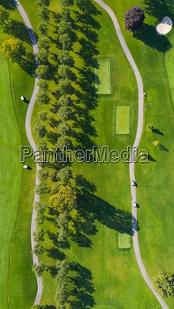 luftaufnahme eines golfplatzes