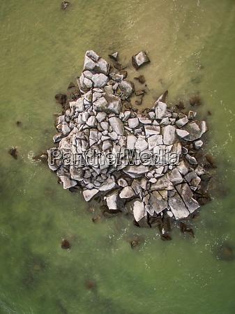 luftaufnahme des baltischen meeres