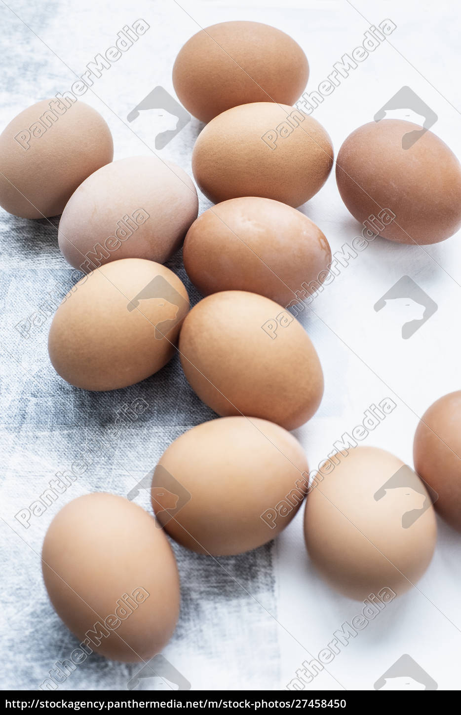 stillleben, von, einem, dutzend, eiern, auf - 27458450