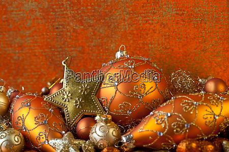 elegant, christmas, ornament, still, life - 27461500