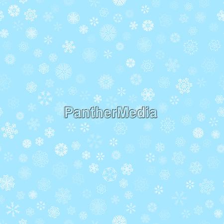 winter schneelicht nahtloses muster