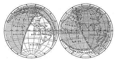 karte des naechsten transits der venus